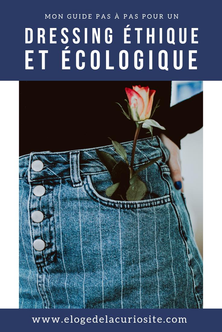 Le Guide Pour Un Dressing Responsable Ecologique Ethique Et