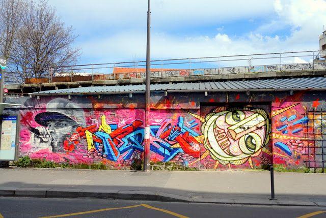 Sunday Street Art : dAcRuZ Clem Mani - rue de l'Ourcq - Paris 19 http://www.parisladouce.com/2016/07/sunday-street-art-dacruz-clem-mani-rue.html