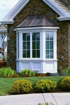 Nice Look For Updating Bay Windows