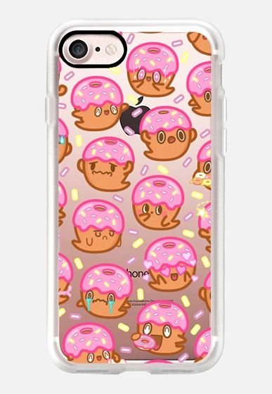 c787ac28a0a Casetify iPhone 7 Classic Grip Case - Donut Ghost Sprinkles by Kumapop  #Casetify