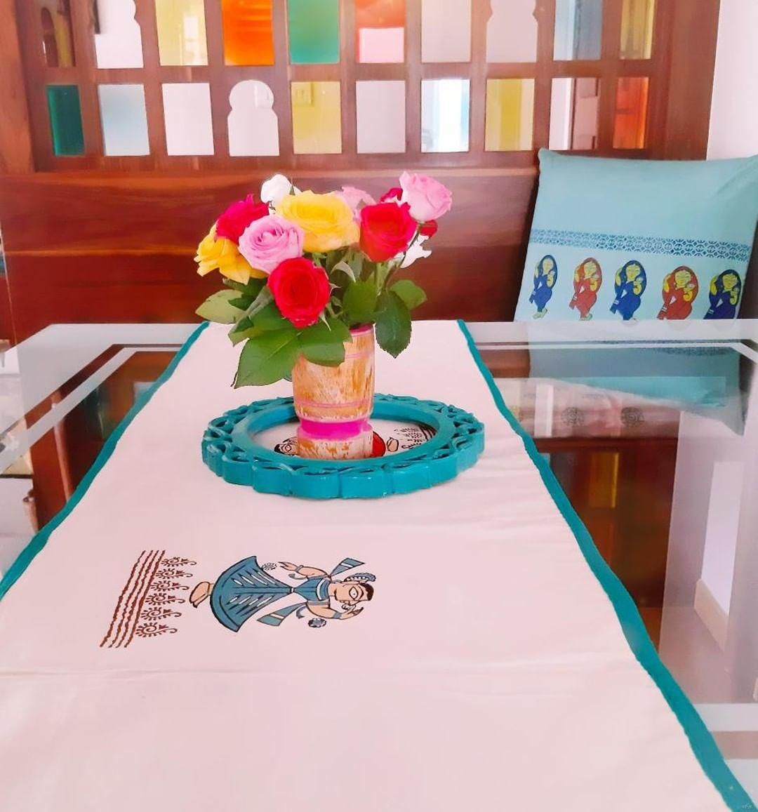 Small Indianhome Design: M&R: A Creative Journey Scripted In Block Prints A