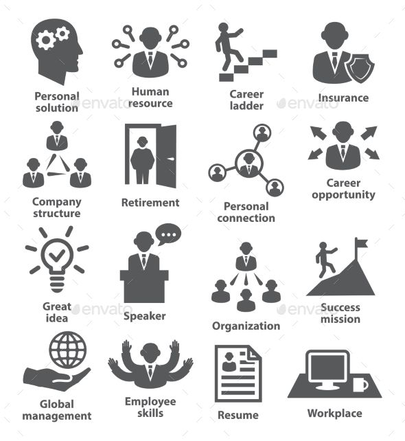 Business People Management Icons Business Icon Management