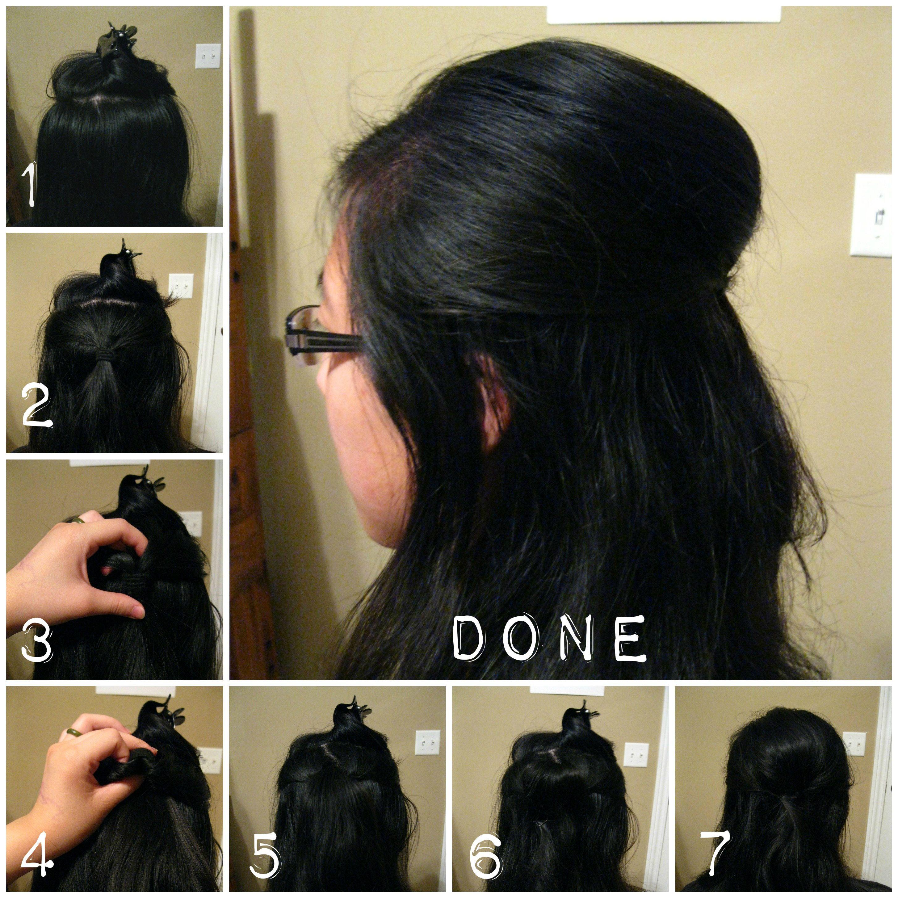 Pin On Teased Hair