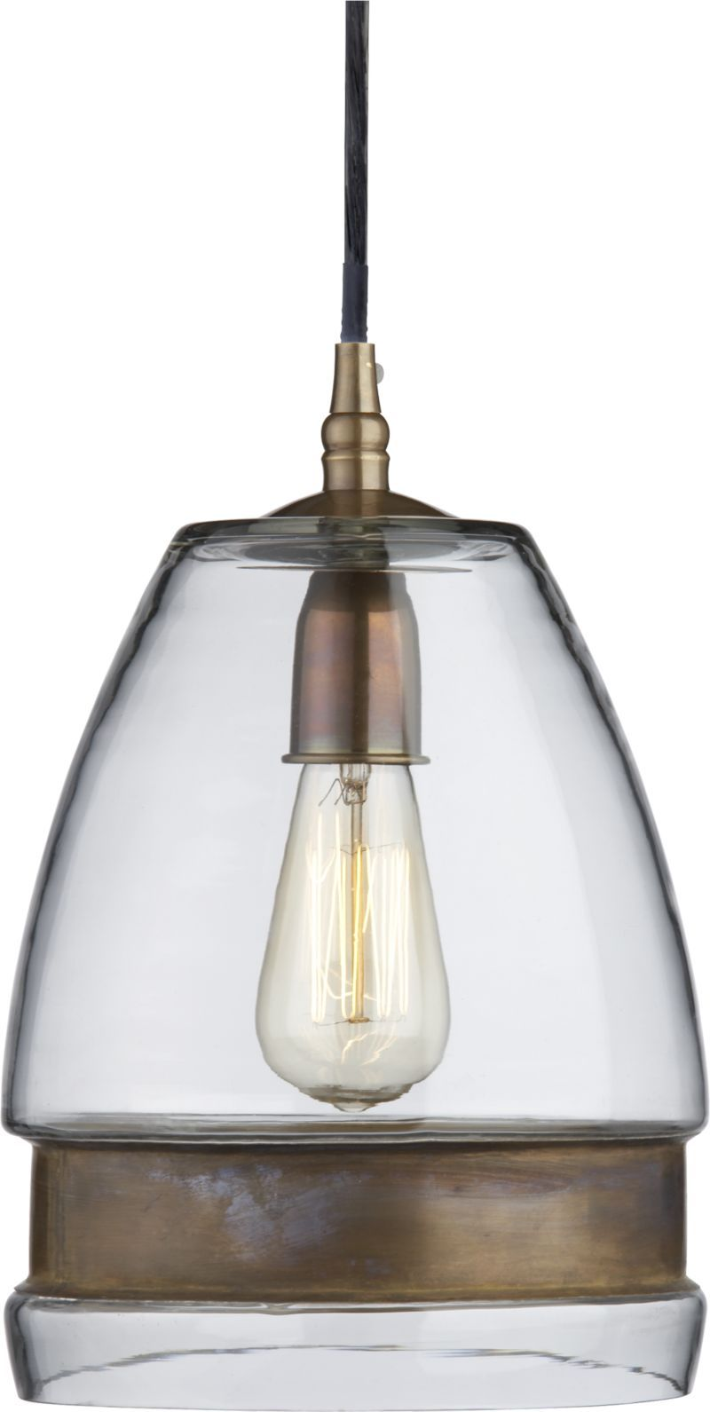 Morela Glass Pendant Lamp With Images Glass Pendant Light