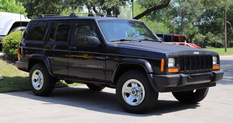 2000 Black Jeep Cherokee 4995 Xj
