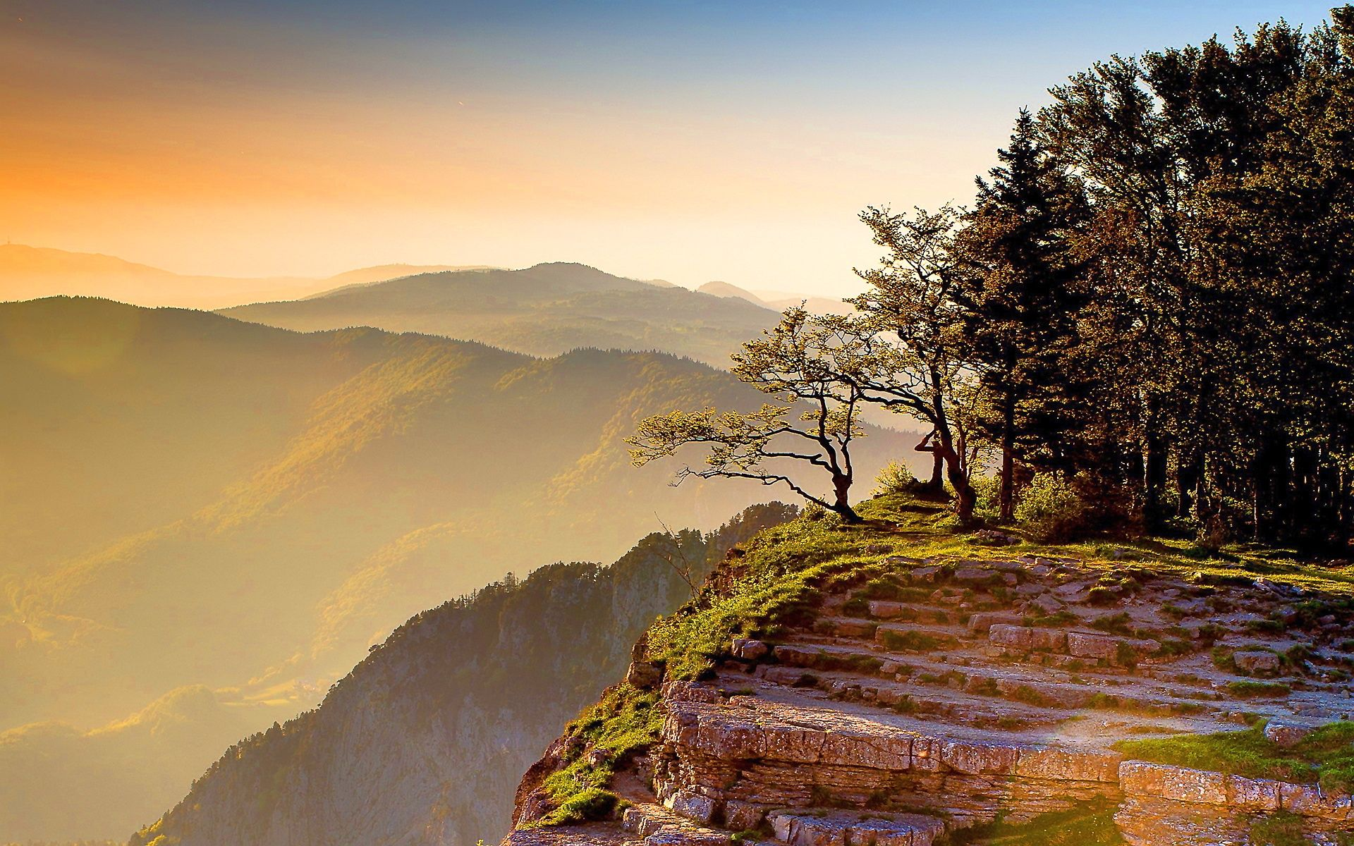 Mountain Sunset Wallpaper Phone NS5