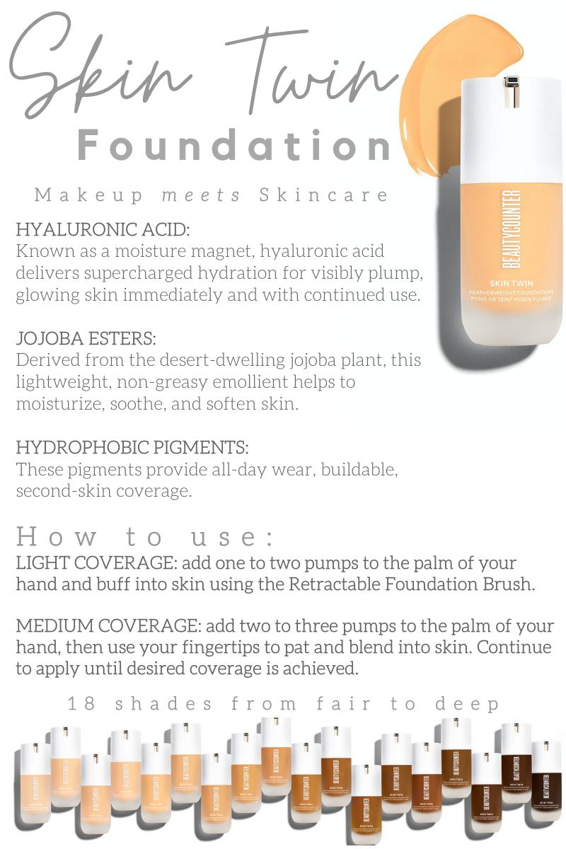 Beautycounter Skin Twin Foundation