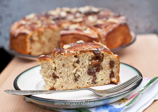 Raisin Bread Cake {Rosenkuchen} Recipe on Yummly