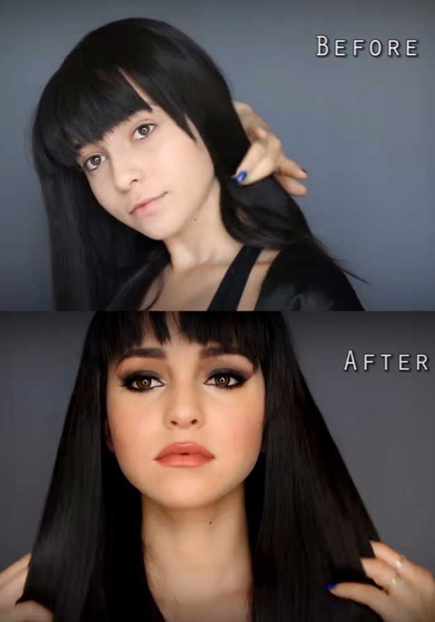 Best Celebrity Makeup Tutorials Selena Gomez Transformation Hands To Myself Tutorial Step By You S Tips