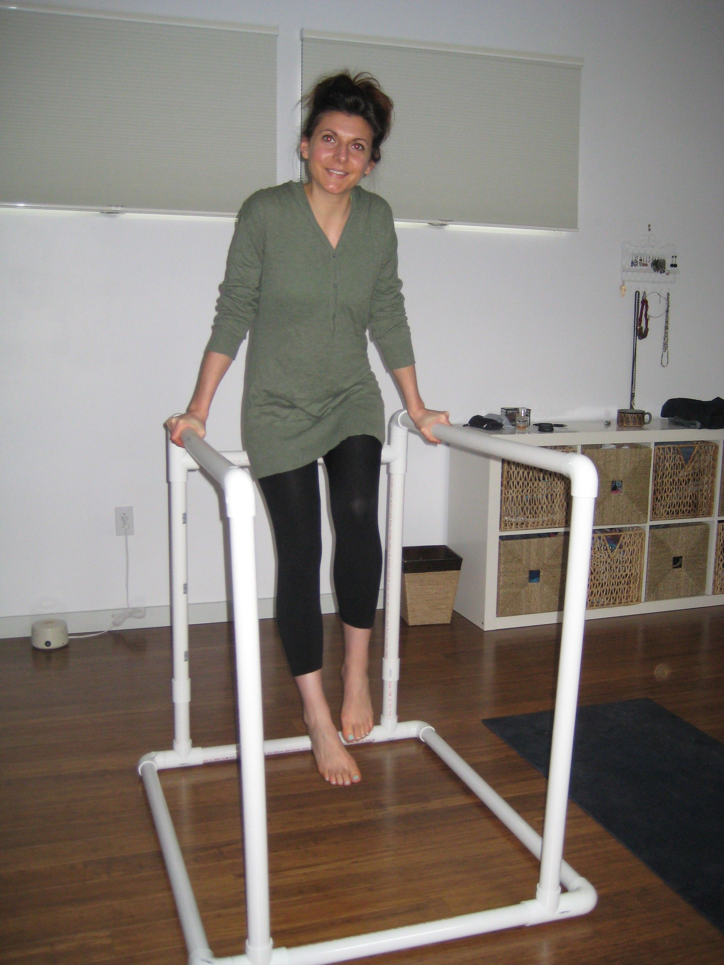 diy pvc dip / parallel bars | home gym | pinterest | gimnasio