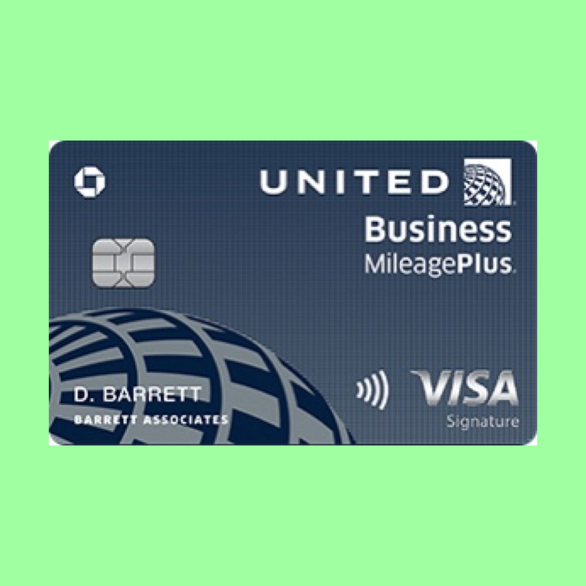 United Business Card The Point Calculator Employees Card The Unit Business