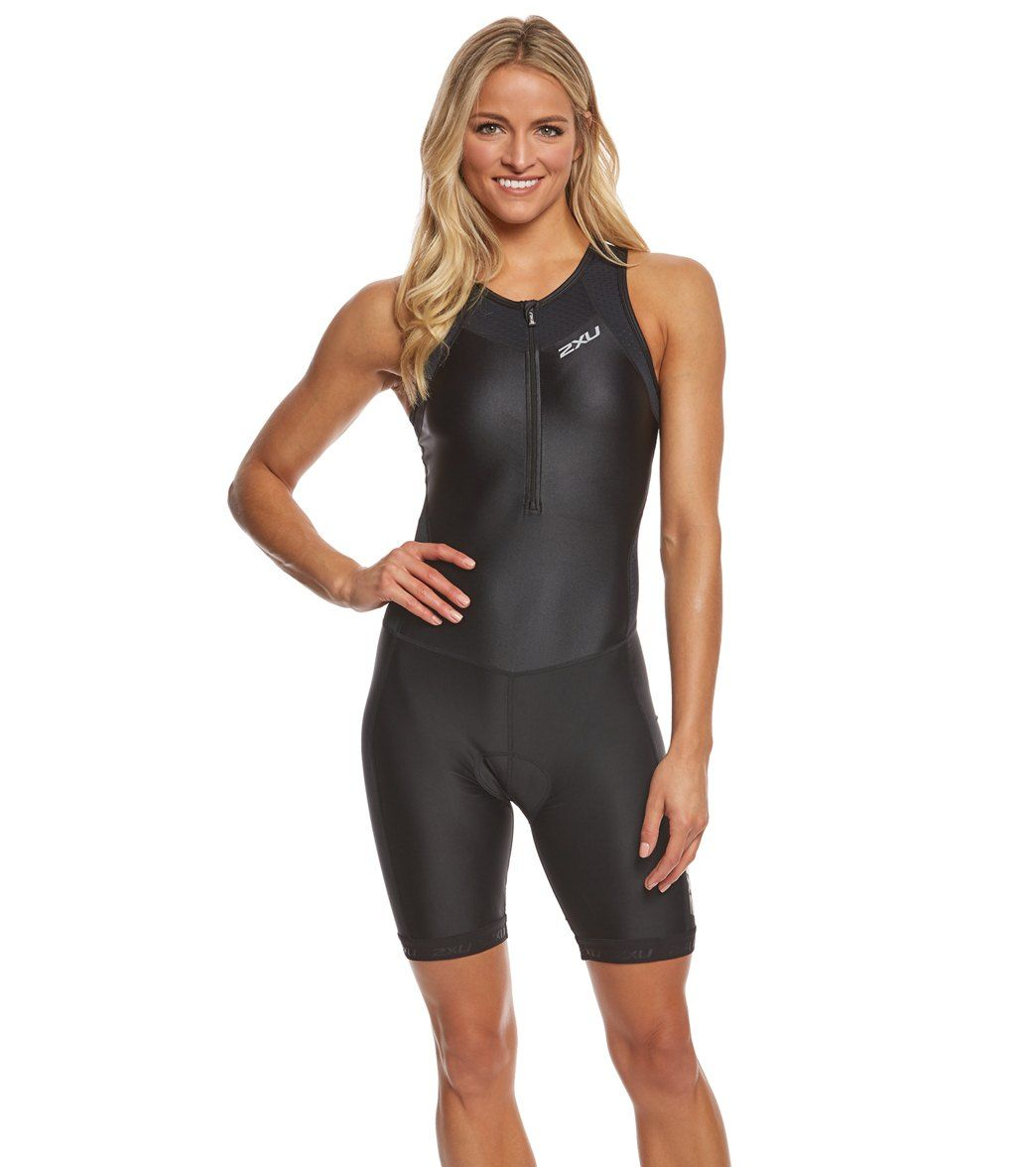 167ae59e39 The 2XU Women s X-Vent Front Zip Trisuit is performance –ready and infused  with tech to keep you cool and comfortable so you can focus solely ...