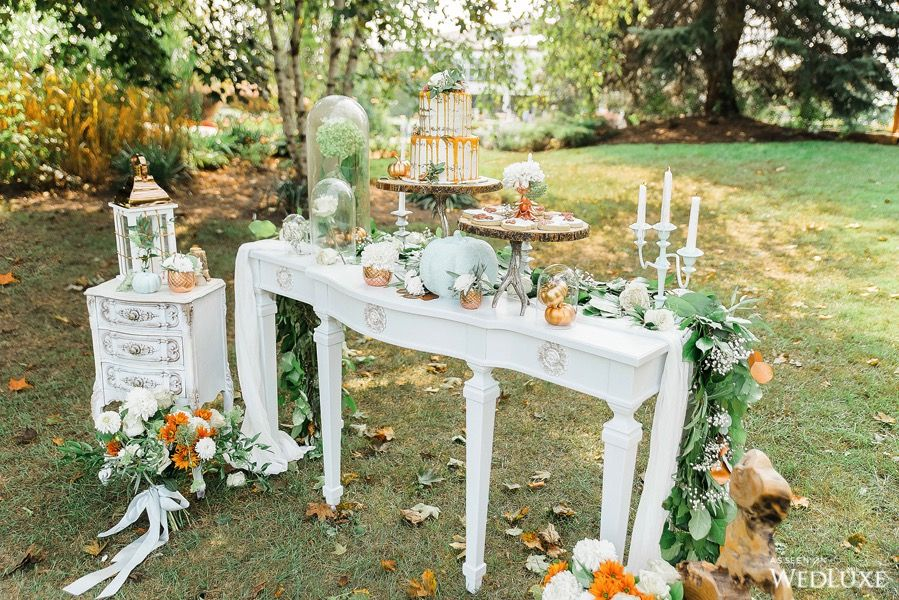 Wedluxe Pumpkin Spice And Everything Nice Photography By
