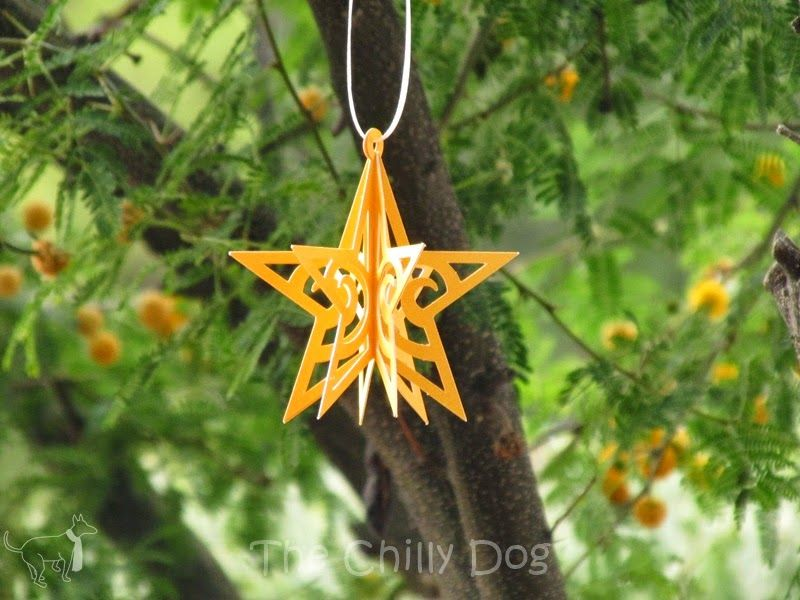 Tutorial 3d Star Ornament Star Ornament 3d Star Ornament Tutorial