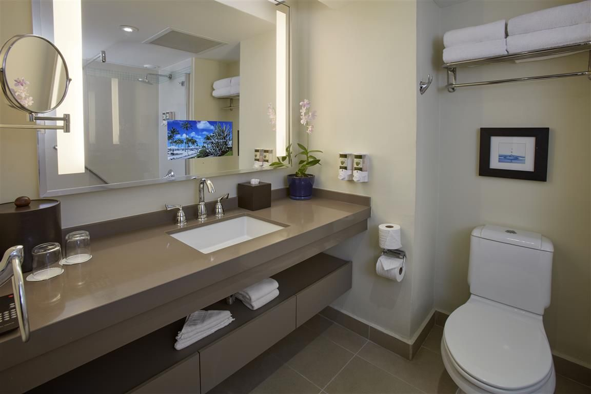 Superior Room Bathroom With A Tv Embedded Into The Mirror Don T Miss Thing In All Categories