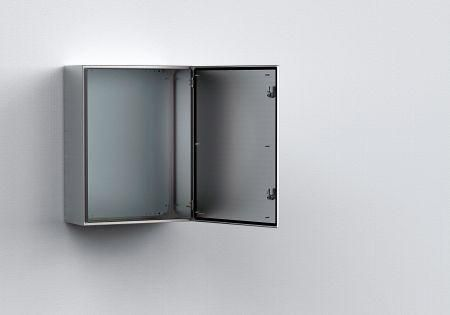 Eldon 400x300x210mm Stainless Steel Wall Mounted Enclosures Locker Storage Steel Wall Metal Products