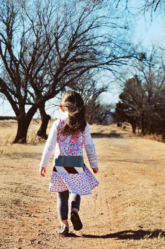 windy oklahoma day #courtneycourtney #designer #graphic #dress #girls #eco #upcycled #recycled #repurposed