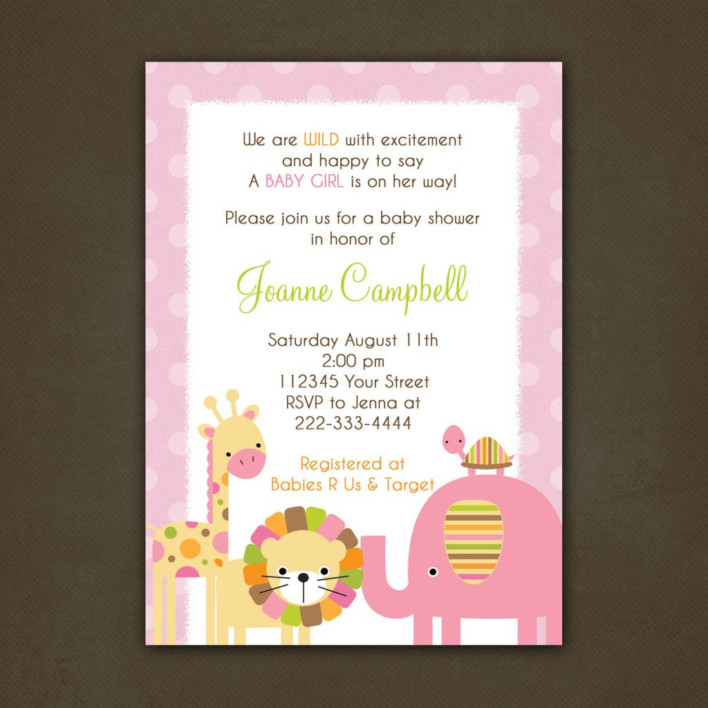 High Class Baby Shower Invitation Wording Baby Party Invitations
