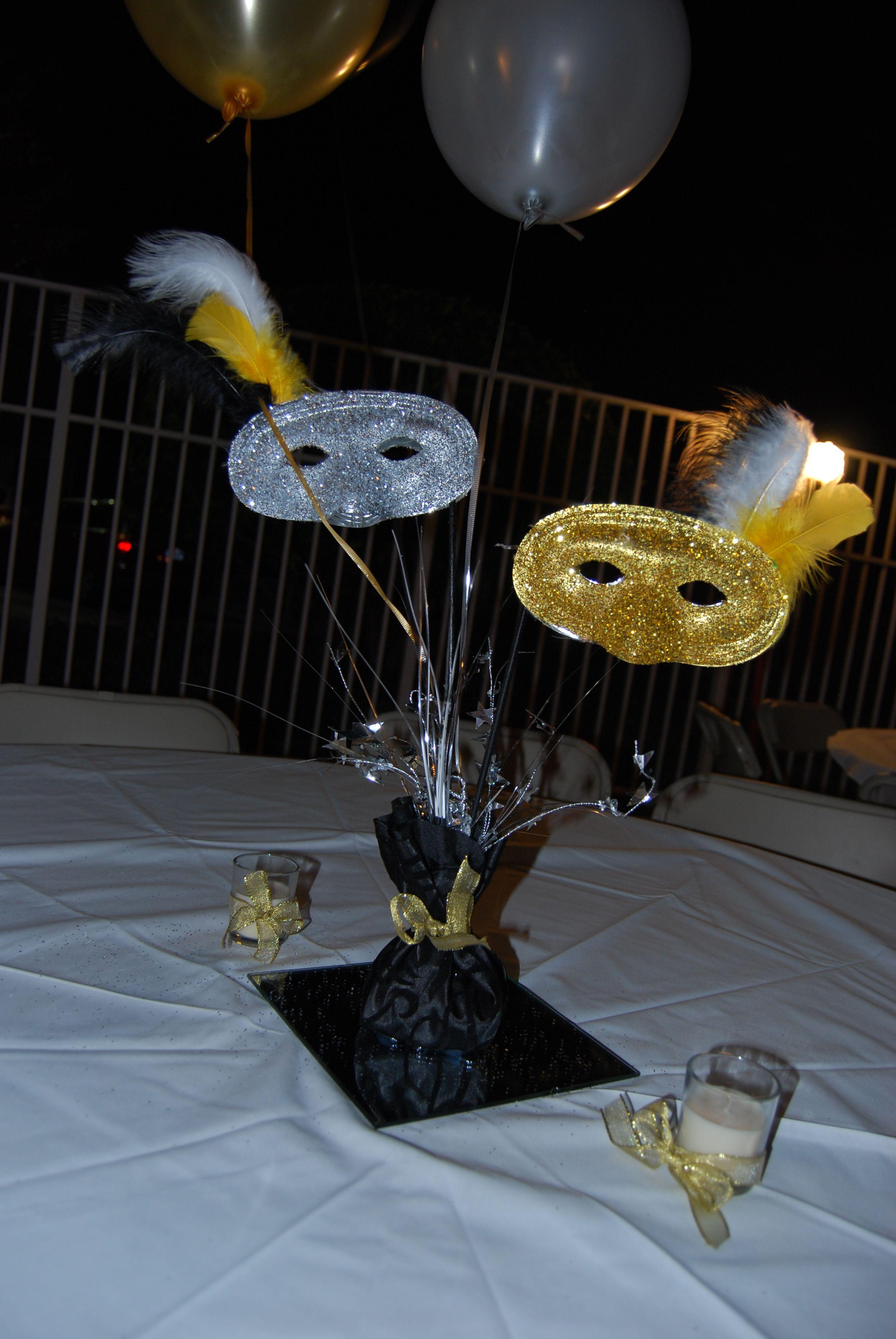 non floral centerpieces recipes to cook masquerade party rh pinterest com masquerade ball table decoration ideas