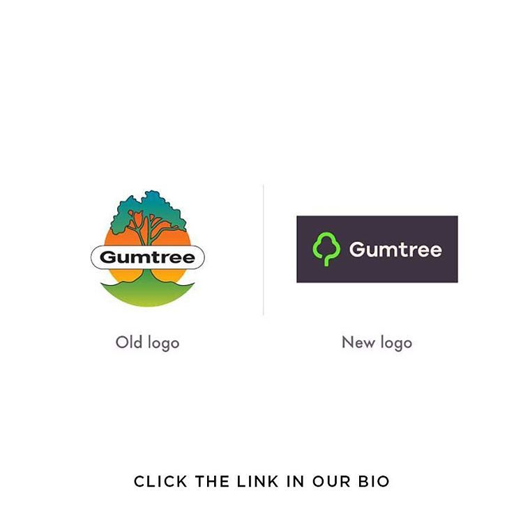 CLICK THE LINK IN OUR BIO to checkout Gumtree's cool simplified rebrand process by Koto Studio. - What are your thoughts?