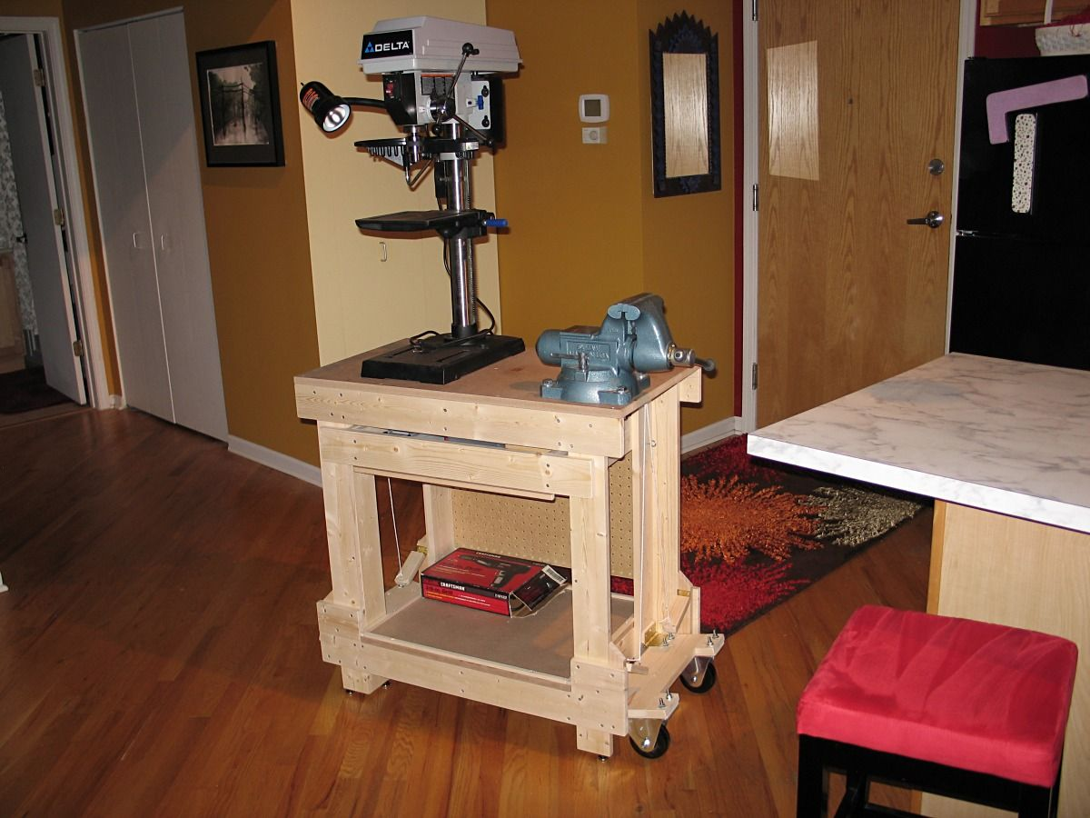Popular Drill press table top plans Drill press table
