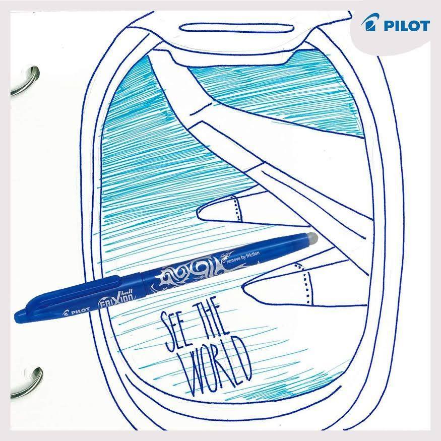 27. 9. Objavuj svet s perami #Pilotpen! Dnes je svetový deň cestovného ruchu  #happywriting