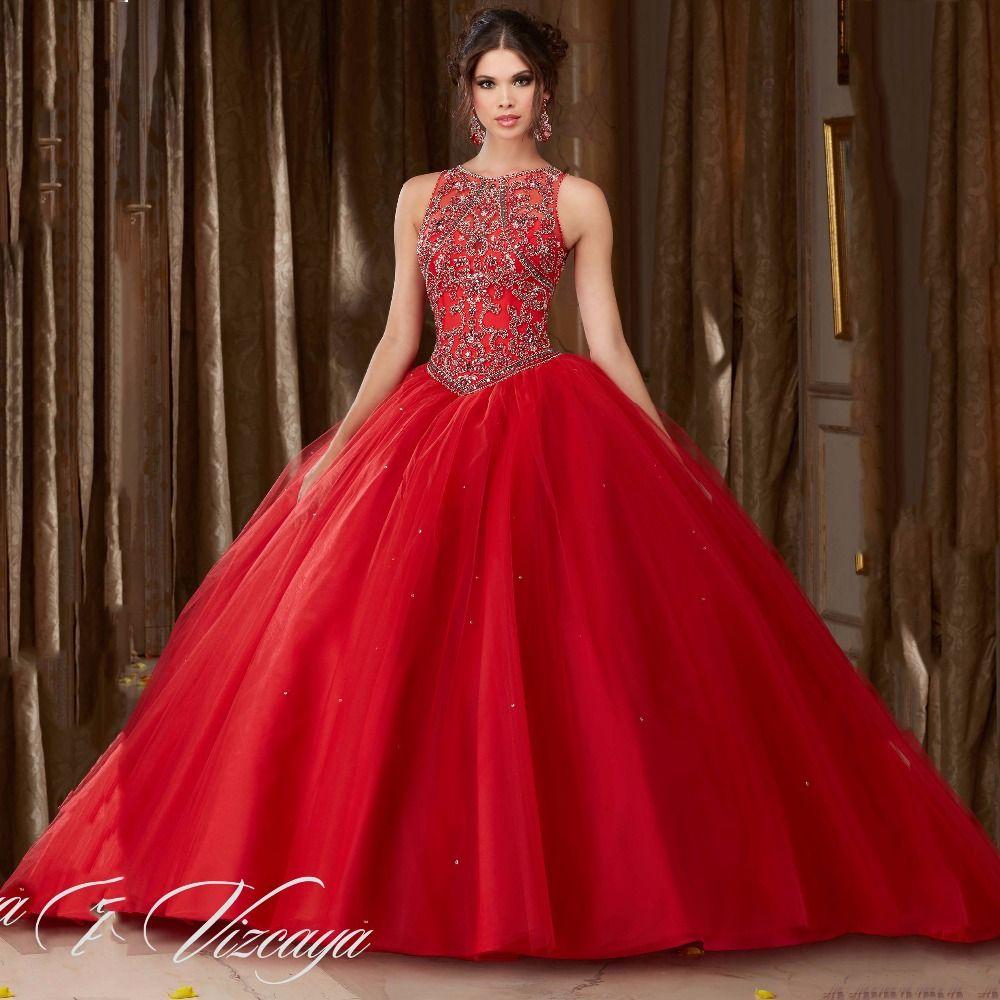 83bb94765 Vestidos de xv años color rojo Para cerrar con broche de oro con la  temática inspirada en el color rojo