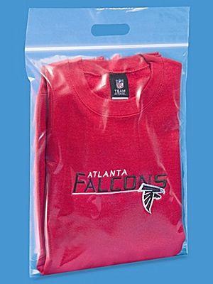 Zip Handle Bags  - 3 Mil, 13 x 18