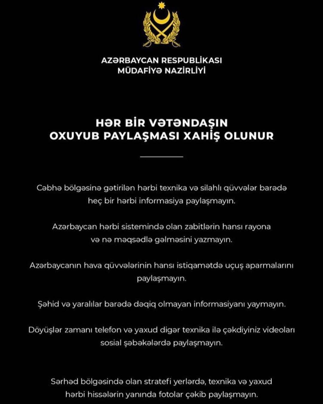 Aslan Ismayilov On Instagram Hər Bir Vətəndasin Oxuyub Paylasmasi Xahis Olunur Azərbaycan Respublikasi Mudafiə Nazirliyi Instagram Aslan Movie Posters