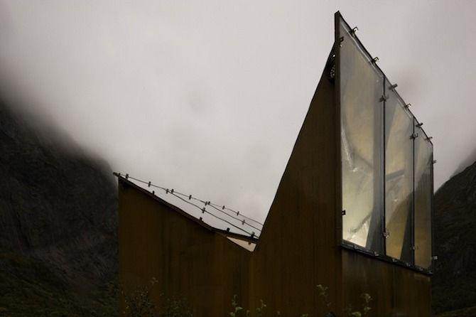 Mathley Kula Architects, Roadside Reststop Akkarvikodden
