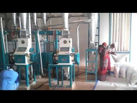 maize milling machine running in Kenya Zambia Uganda ...