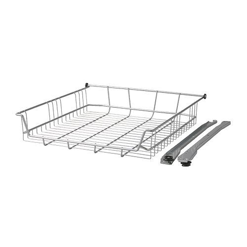 Ikea Rationell Wire Basket 40 Cm Smooth Running