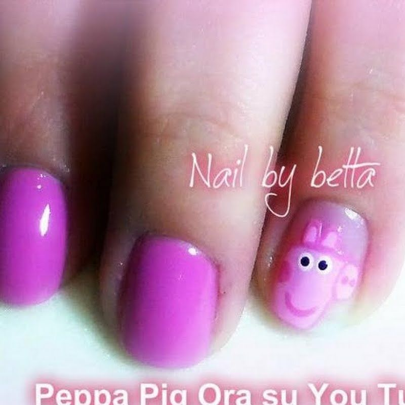 Would You Try Peppa Pig Nail Art By Elisabetta P Vote On Preen Me