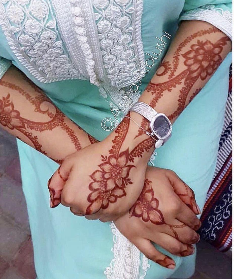 Pin By Zainab Ranzil On نقش حناي زيبا Latest Henna Designs Henna Flower Designs Modern Mehndi Designs