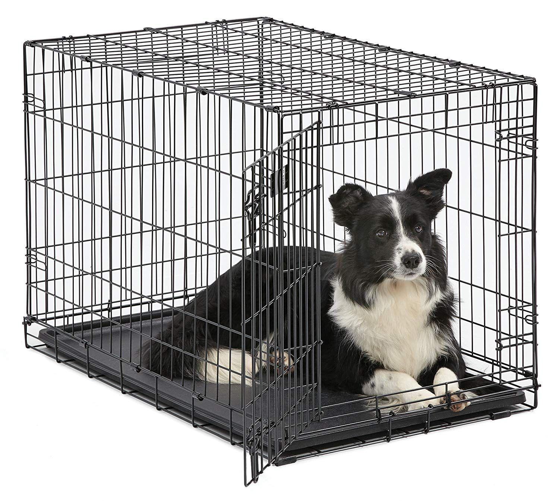 Midwest Homes For Pets Dog Crate Icrate Single Door Double Door Folding Metal Dog Crates Full Folding Dog Crate Dog Playpen Dog Crate