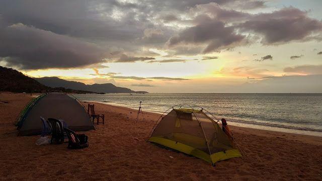 Cắm trại đêm, đón bình minh ở biển Vĩnh Hảo