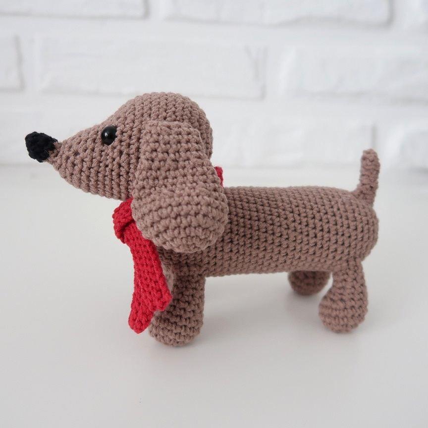 AmiDogs Dachshund amigurumi crochet pattern | Crochet patterns ... | 864x864