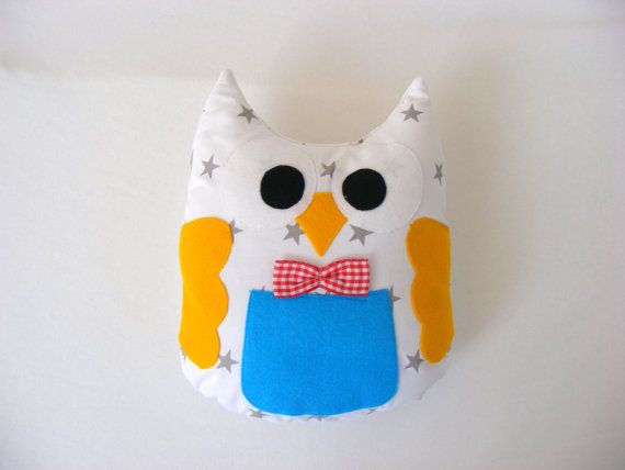 Mr. owl by BettyPillows on Etsy