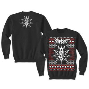 Slipknot Web Exclusive Holiday Sweater printed on a 100% cotton ...