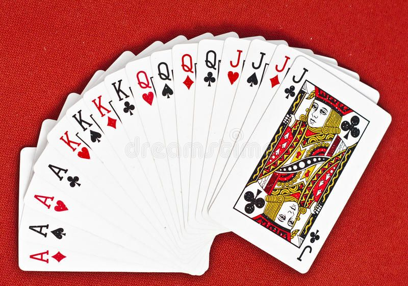 Deck Of Cards Cards Bigger Than 10 In A Classic Playing Cards