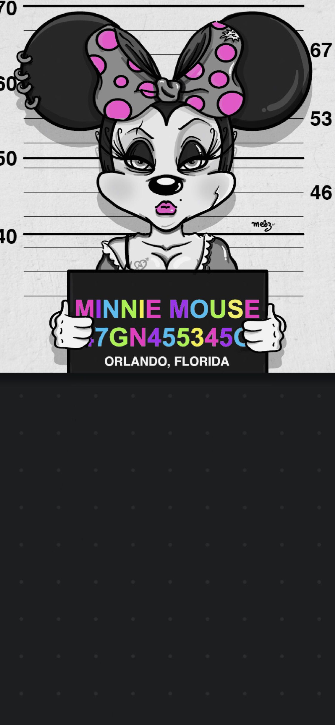 Wallpaper, background, iPhone, Android, HD, Minnie Mouse