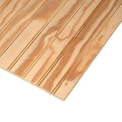 Plywood Siding Plybead Panel Common 11 32 In X 4 Ft X 8 Ft Actual 0 313 In X 48 In X 96 In Plywood Siding Wood Panel Siding Wood Siding