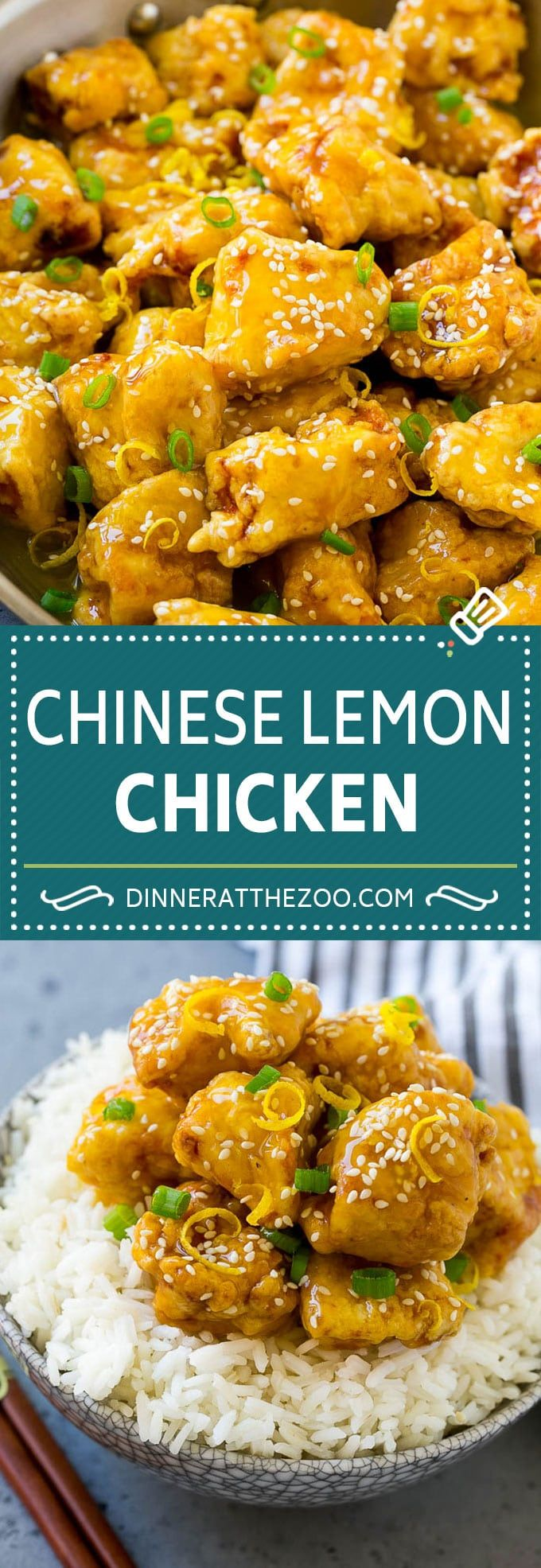 Chinese Lemon Chicken Recipe | Crispy Lemon Chicken | Chinese Food Recipe #lemon #chicken #chinesefood #dinner #dinneratthezoo #chinesefood