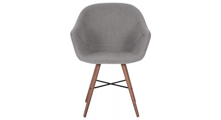 Upholstered Scandinavian Dining Chair In Grey Set Of Two For 459 Scandinavian Dining Chairs Diy Chair Chair