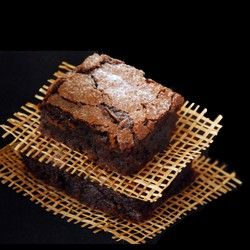 Rum Laced Chocolate Brownies  Rum Laced Fudgy Chocolate Brownies – It's rich, chocolaty and laced with rum! And you know you want one.  contributed by: bakerstreet