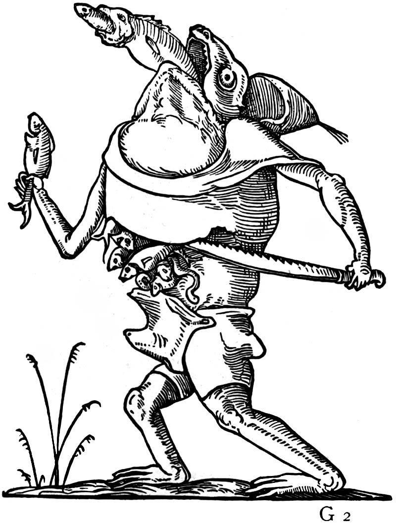 François Desprez - 1565, Les Songes drolatiques de Pantagruel - 45