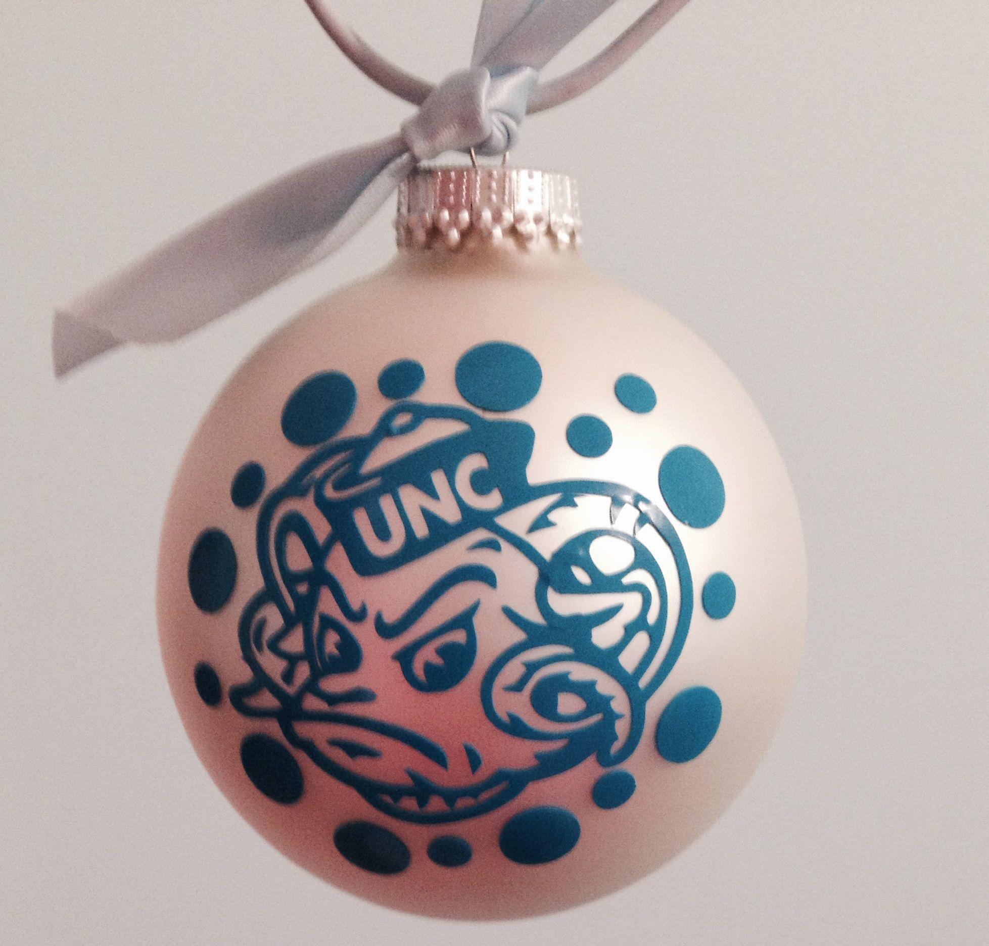 Tarheel Christmas Ornament #UNC | Items I created! | Pinterest | Unc ...