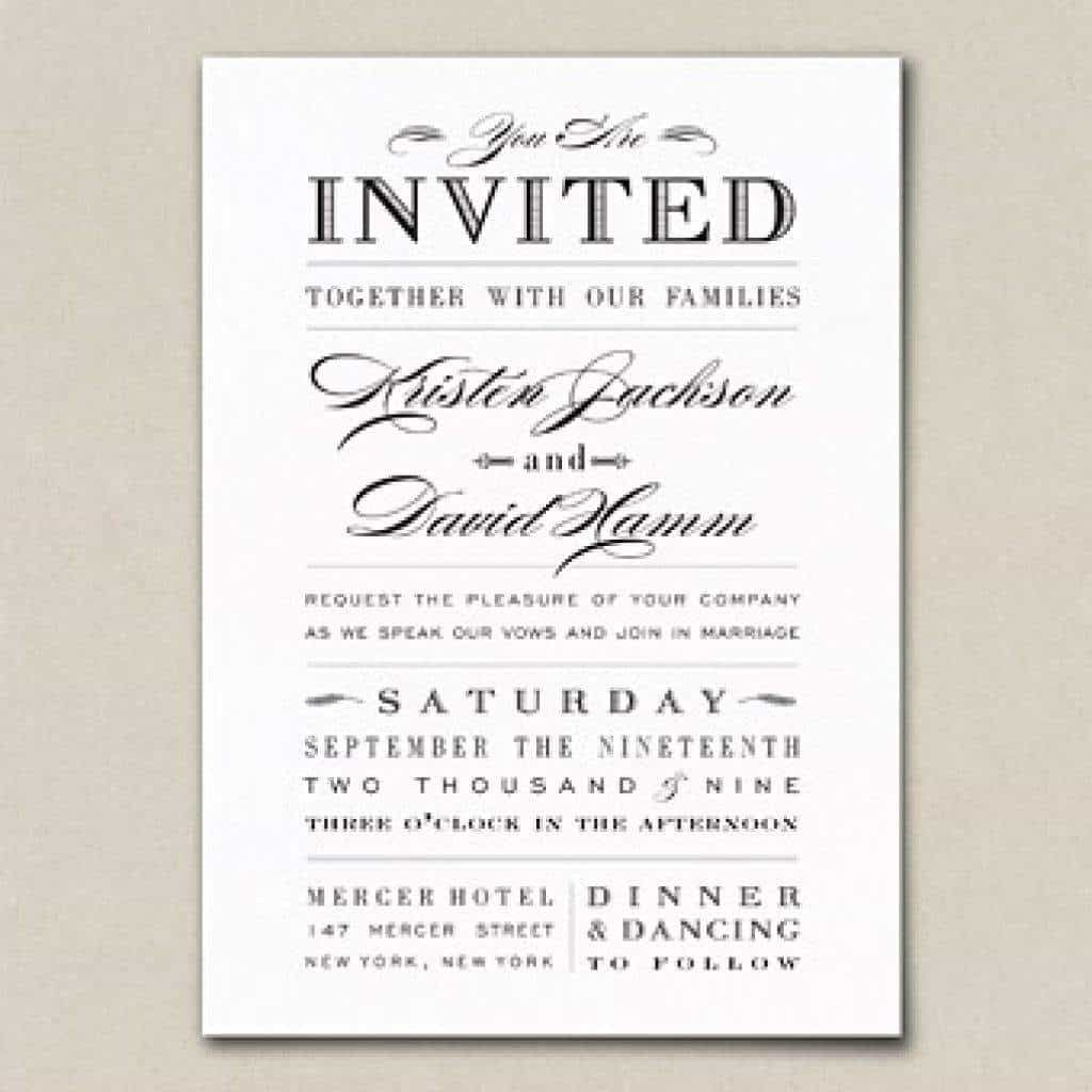 Nice Tips Easy To Create Wedding Invitation Wording Couple
