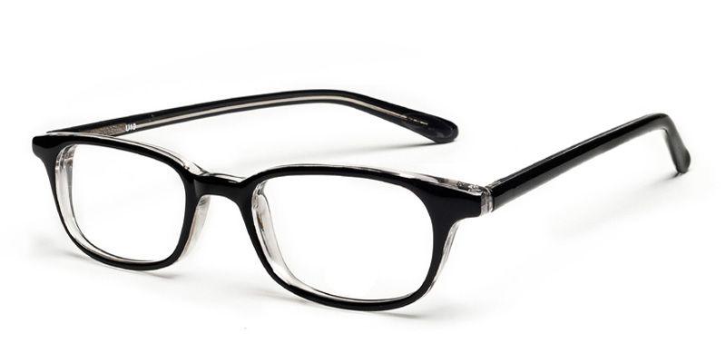 Masyn Black Full Frames -- Geek chic | Buy glasses online ...