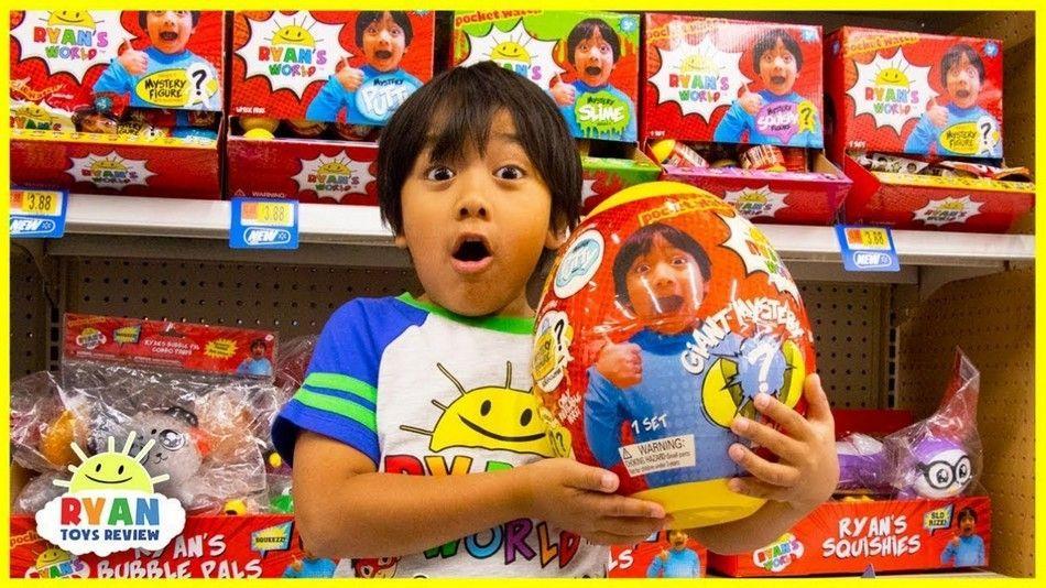 اليوتيوبر الأكثر دخلا هذا العام من اليوتيوب يبلغ من العمر 7 سنوات فقط Ryan Toys Best Kids Toys Internet Safety For Kids